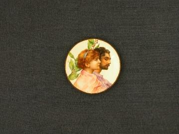Portrait d'un jeune couple