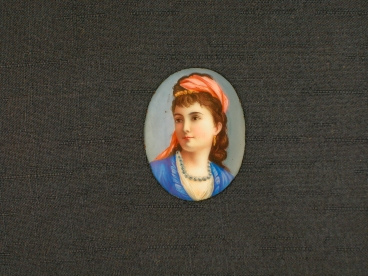 Portrait de femme au turban