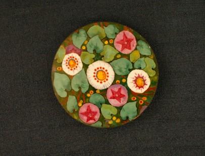 Motif floral stylisé