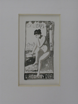Miniature Projet Ex Libris L.Reguin Duc