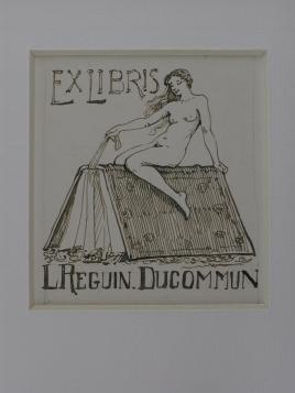 Ex Libris L.Reguin Ducommun