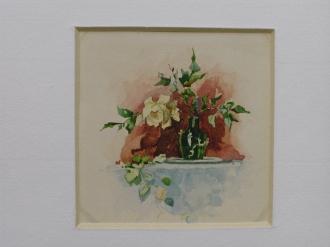 Miniature - Roses dans un vase
