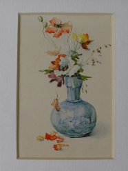 Miniature - Renoncules dans un vase