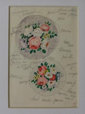 Compositions florales - Projet de miniatures