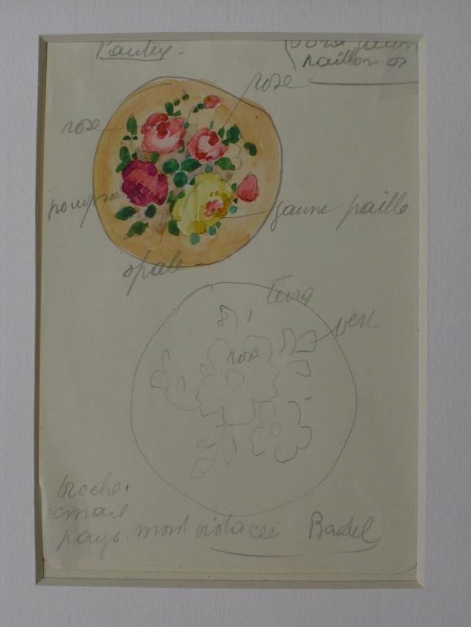 Composite florale - Projet de miniature