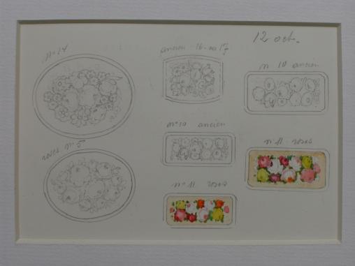 Projets pour peintures sur émail
