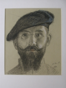 Autoportrait de Louis Reguin
