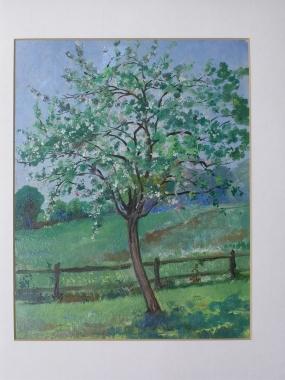 L' arbre en fleurs