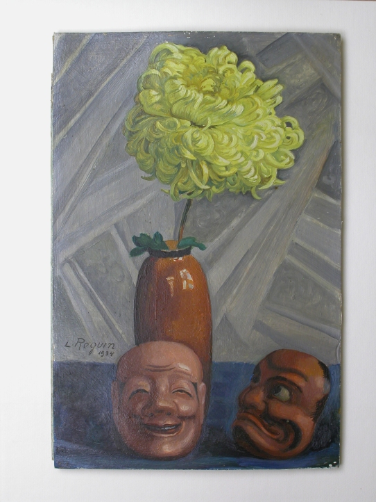 Chrysanthème et masques