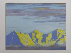 Vue sur l' Eiger, le Mönch et la Jungfrau
